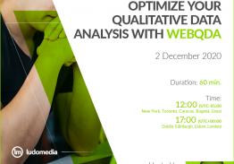 Webinar Optimize your Qualitative Data Analysis with webQDA
