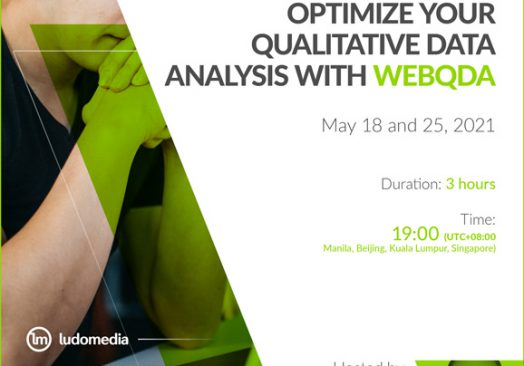 Workshop Optimize your Qualitative Data Analysis with webQDA