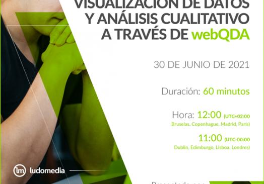 Webinar Visualización de datos y análisis cualitativo a través de webQDA